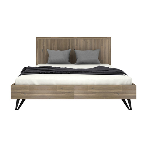 Havana Wooden Colour Queen Bed Frame